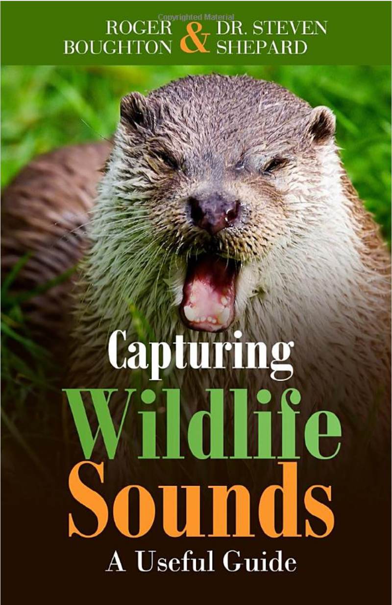 Roger Boughton Steven Shepard - Capturing Wildlife Sounds - book cover